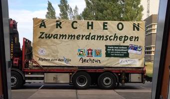 Zwammerdam 2 getransporteerd naar Archeon