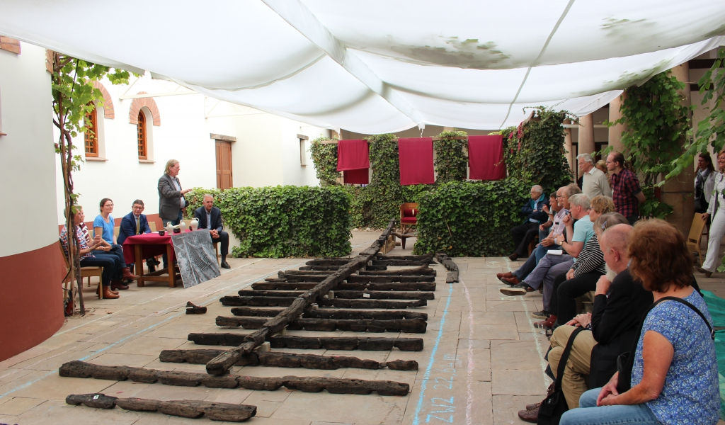 Sneak preview Romeins Restauratiewerf Archeon