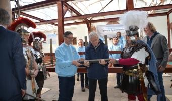Opening Romeins Restauratiewerf Zwammerdamschepen - Logboek 2