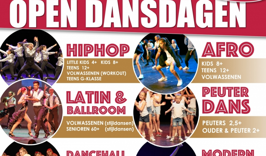 Alphense Open Dans- en Theaterdagen in februari