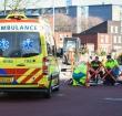 Fietser gewond na aanrijding op Gerard Doustraat