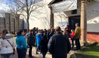 Slimme klas tijdens Cultuurpaletbezoek Zwammerdamschepen