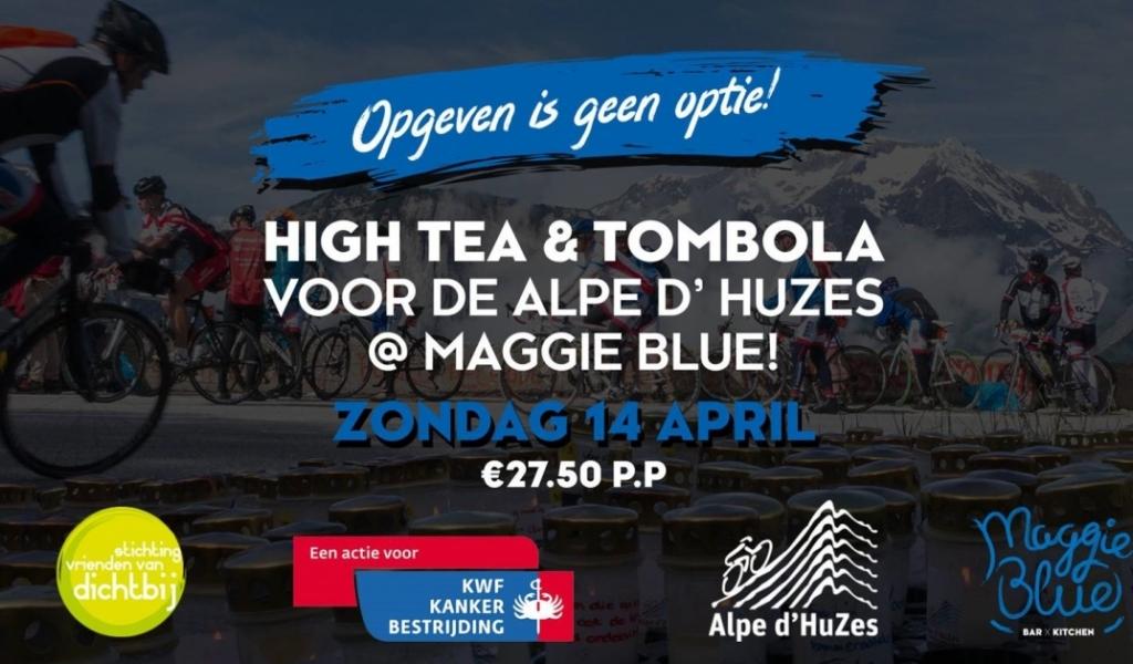 Tea & Tombola voor de Alpe D'Huzes