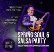 Eerste paasdag Spring Soul & Salsa party in Alle Hens
