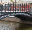 Er komt een nieuwe tekst op de brug bij de Aarhof