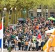 Menno Aben op het Rijnplein met Koningsdag