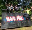 Opbouw parcours Obstacle Run Alphen gestart