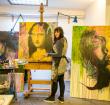 Kunstenares Femke Kock laat zich nergens op vastpinnen