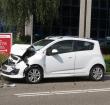 Kop-staart ongeval op Van Foreestlaan
