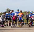 Zonnige afsluiting van een succesvol zomerseizoen Alphense inline skaters!