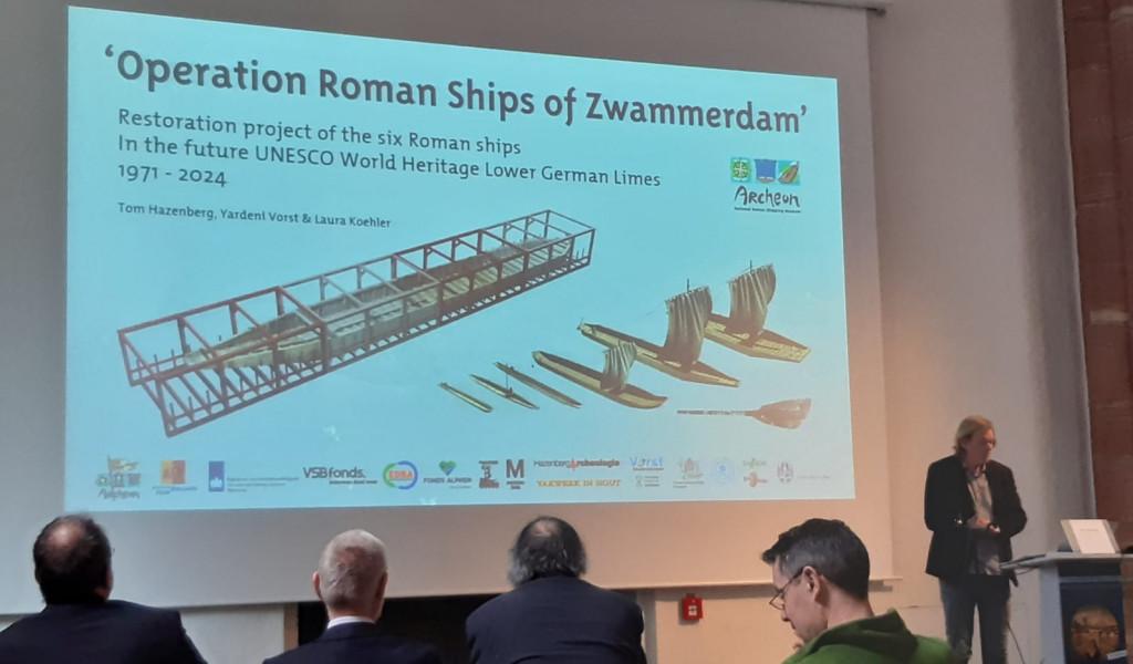 Zwammerdamschepen op congres in Frankfurt
