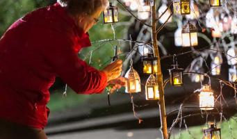 Lichtjes in het Donker ook dit jaar in aangepaste vorm
