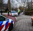 Politie verricht aanhouding op de Prins Bernhardlaan