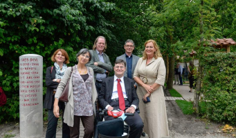 Unieke Romeinse weg Via Albaniana in Archeon feestelijk geopend