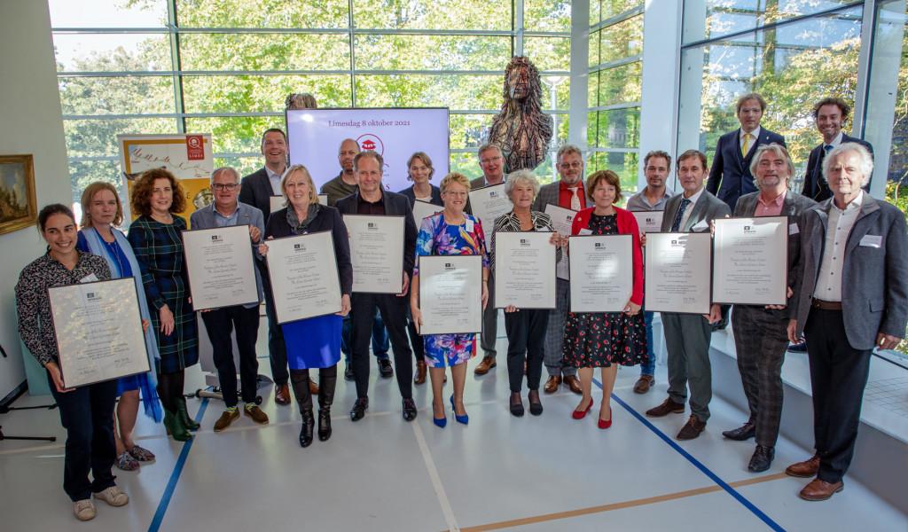 Minister Van Engelshoven reikt Werelderfgoed certificaten uit